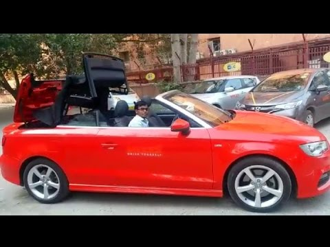 audi a3 cabriolet Convertible Car