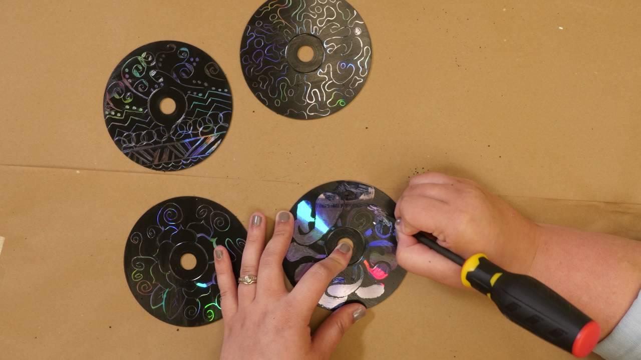CD Wall Art - YouTube