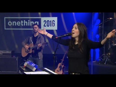 IHOP Onething 2016 * Laura Hackett Park * 12/28/16: Laura Hackett Park at the Onething 2016 conference from International House of Prayer Missions Base of Kansas City (IHOP)