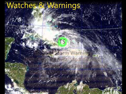 Tropical Storm Isaac - Update 5 (Aug 26, 2012)