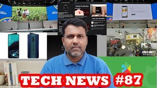 Tech News #87 Samsung Galaxy A70s, Call of Duty Mobile, iphone 11 Pre Orders, WatchOS 6, Huawei Visi
