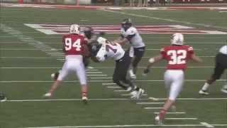 NFL & NCAA - Hardest Hits & Highlights [HD]