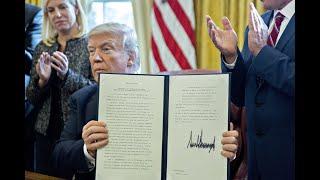 Trump's 'Pen-and-Phone' Presidency Begins