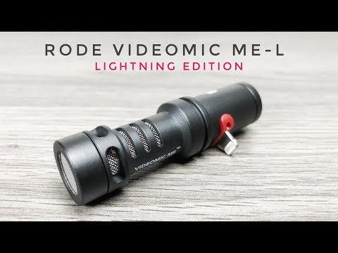 Rode VideoMic Me-L | Best Microphone For iPhone's & iPad's