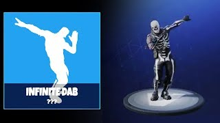 NEW INFINITE DAB EMOTE DANCE LEAKED - FORTNITE BATTLE ROYALE
