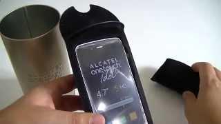 Alcatel One Touch Idol Alpha - déballage