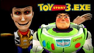 THE FINAL BATTLE BETWEEN BUZZ AND WOODY.EXE!! Toy Story 3.EXE