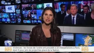 [BFMTV] Une journaliste DISJONCTE en direct
