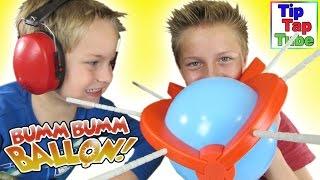 Bumm Bumm Ballon! Spannung bis zum Platzen Spielzeug unboxing Video Schmidt Spiele Kinder Kanal