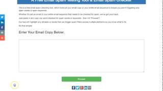 EmailCopyChecker.com - A Free Email Spam Testing Tool & Email Spam Checker