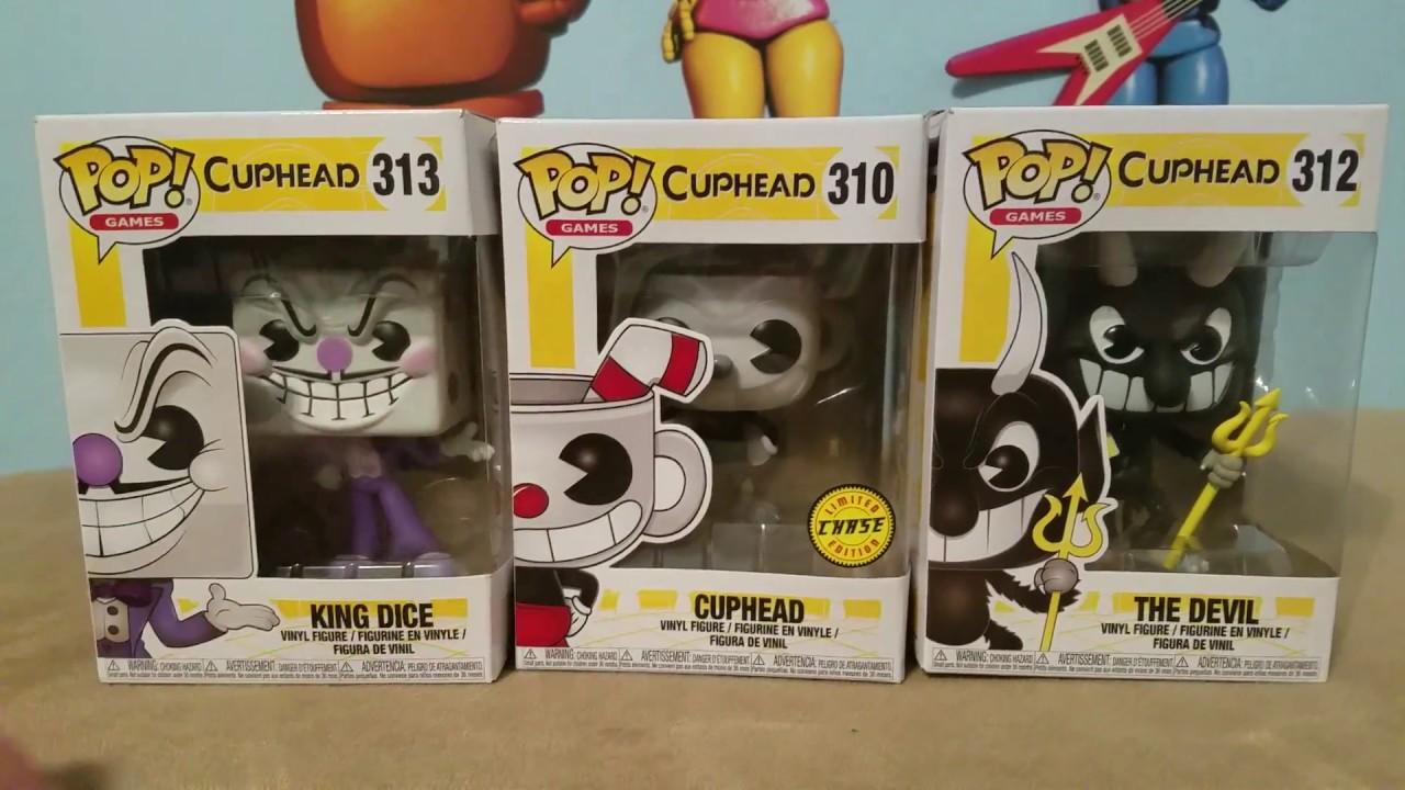 Games 312  The Devil Funko POP CUPHEAD NEW!!! Vinyl