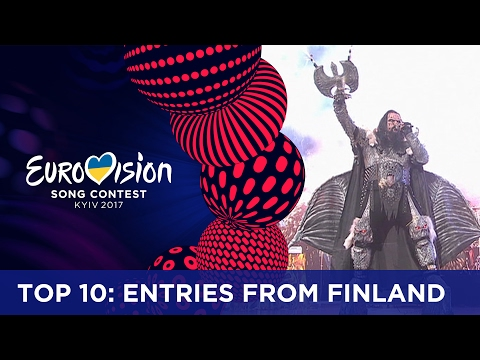 TOP 10: Entries from Finland