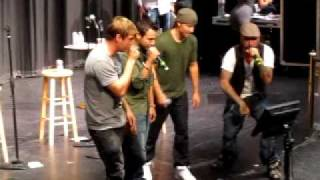 "Backstreet Boys Cruise 2010: Boys perform ""Bust a Move"""