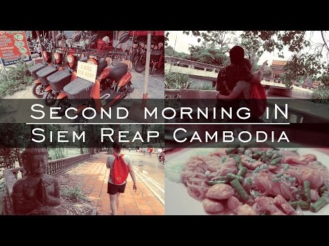 First afternoon in Cambodia | Travel Vloggers | Siem Reap