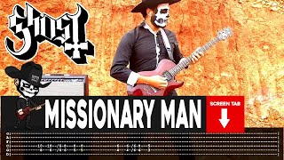 Ghost - Missionary Man (Guitar Cover by Masuka W/Tab)
