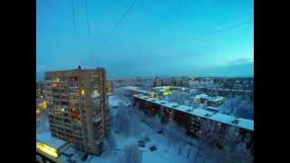 Зимний Архангельск(Привокзальный микрорайон города Архангельска зимой., 2015-01-19T04:21:30.000Z)