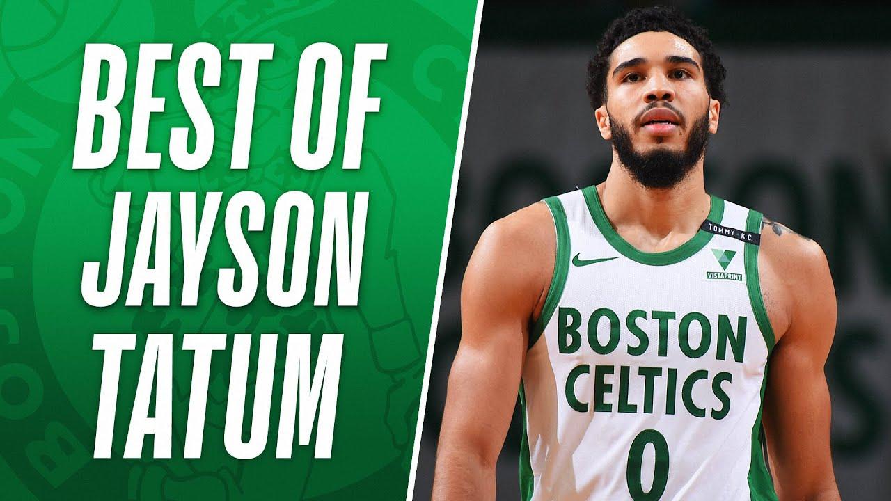 Download Jayson Tatum's BEST PLAYS Of The Regular Season 🍀