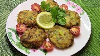 Картофельные котлетки с крабовым мясом и кукурузой приятно удивят своим превосходным вкусом!