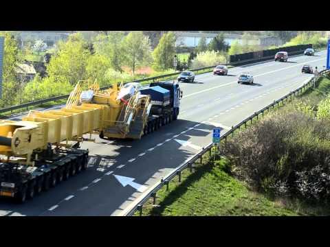 HeavyLoad / Nadměrný Náklad : Sviadnov, CZ - Mělník, CZ (4/2014)