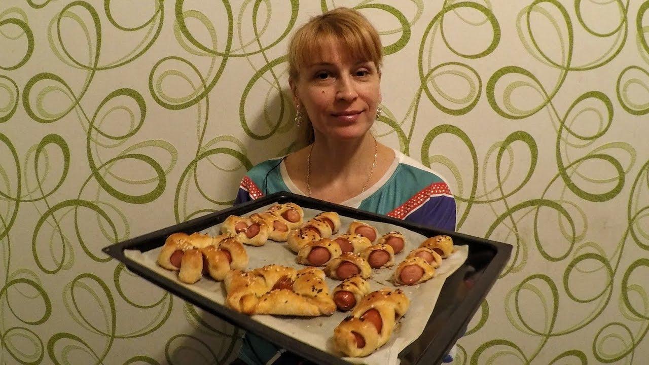 сосиски в тесте с сыром в духовке рецепт с фото