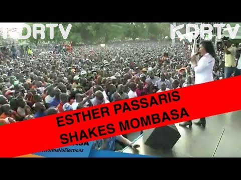 ESTHER PASSARIS SHAKES THE CROWD IN MOMBASA AS SHE  DANCES TO TIBIM
