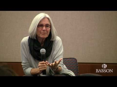 Eileen Fisher at Babson College