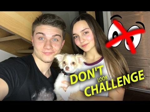 DON'T LOOK CHALLENGE | Duckie VS DATEL !