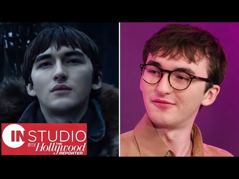 "Isaac Hempstead Wright on Final Season of &39;Game of Thrones&39;: ""Get Some Tissues""  In Studio"