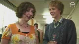 GNW Behind The Scenes - Kristen Schaal and Josh Thomas
