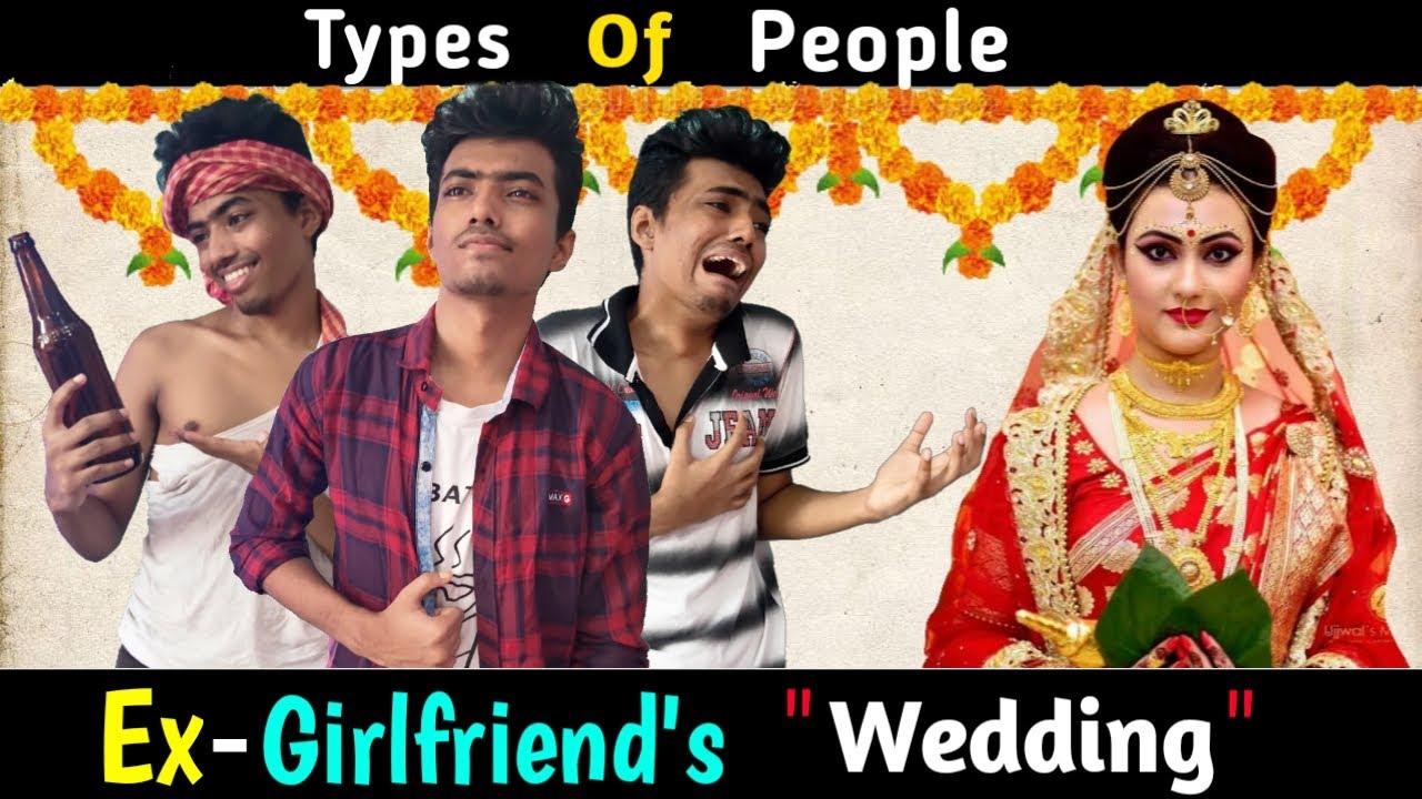 Type of People in Ex-Girlfriend's Wedding | Bengali Comedy Vines | Unwanted Raju