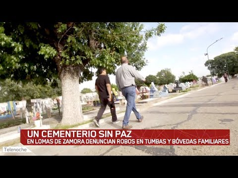 Cementerio Sin Paz: En Lomas De Zamora Profanan Tumbas