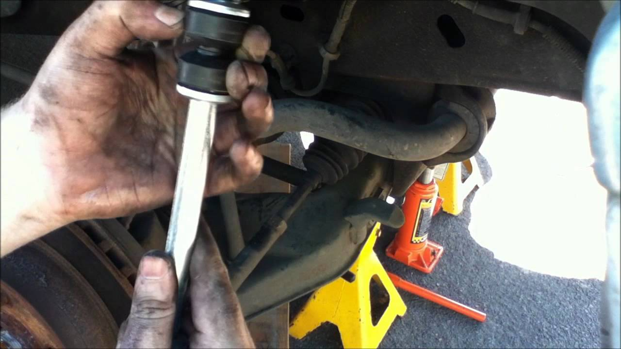 Ford Explorer Front Sway Bar Link Replacement - YouTube