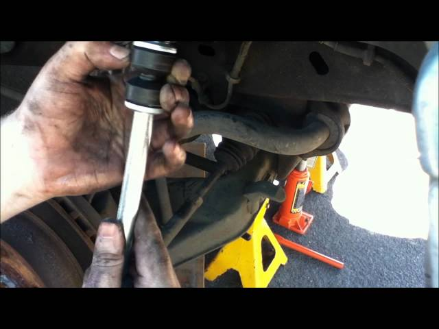 Ford Explorer Front Sway Bar Link Replacement YouTube