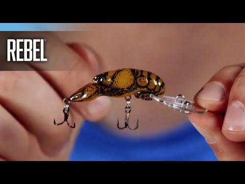 Rebel Deep Teeny Wee Crawfish Features