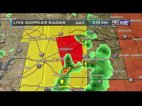 4-29-2017 KLTV Tornado Coverage