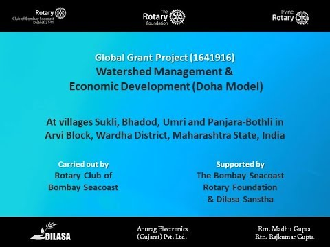 Rotary Club of Bombay Seacoast Global Grant
