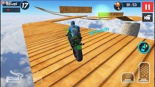 Bike Stunt Games 2019 - Motor Bike Stunts Game - Android gameplay FHD #2