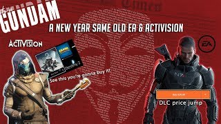 A New Year Same old EA & Activision │Mass Effect 2 & 3 DLC price jump │Destiny 2 ads popping on PS4