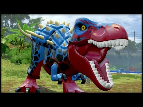 LEGO Jurassic World - BLITZ-REX! CUSTOM DINOSAURS!