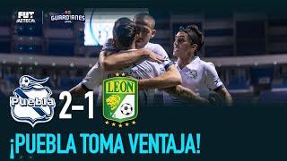 Puebla 2-1 León | Goles y resumen | Cuartos de final |Guardianes 2020