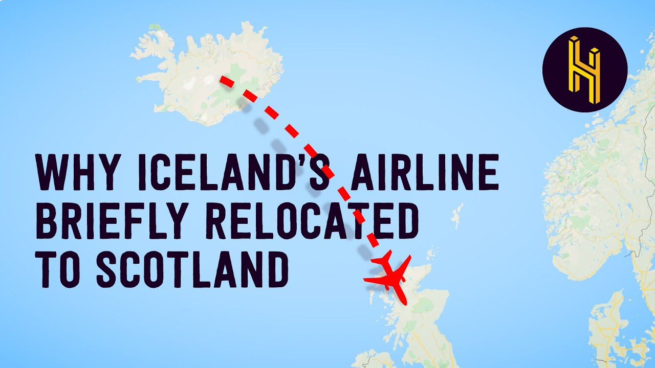 Why Iceland's Airline Briefly Relocated to Scotland