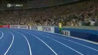 Usain Bolt - World record 9.58 [High Quality]