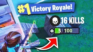 My MOST Kills in Fortnite and I Only Had 5 Health Left! Solo vs Squads! (Fortnite BEST Moments)