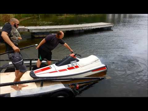 1991 YAMAHA WaveRunner II It's ALIVE - YouTube