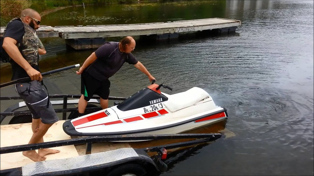 1991 YAMAHA WaveRunner II It's ALIVE