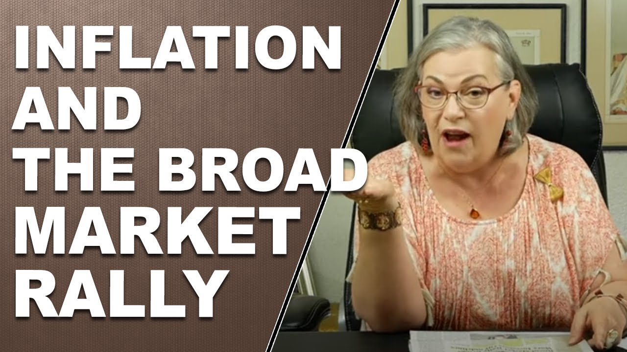 INFLATION AND BROAD MARKET RALLY:  Headline News with Lynette Zang