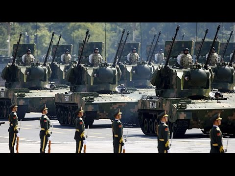 China's V-Day military parade in Beijing 2015 (Военный парад в Китае)