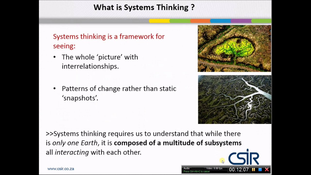 systems thinking essentially seeks to understand phenomena as a whole formed by the interaction of p System 3 is a support system for system 3, its main mission being to obtain information on how system 1 is working, information which cannot be accessed via the communication channels linking system 1 with system 3 directly, nor via the connection between system 2 and system 3 (figs 131 and 132.