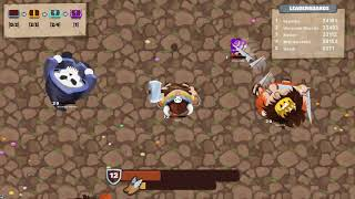 MINIGIANTS.IO GAME WALKTHROUGH | MULTIPLAYER SURVIVAL GAMES