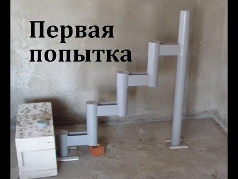 Строим домик в деревне | Серия 10. Попытка собрать лестницу из Леруа Мерлен!